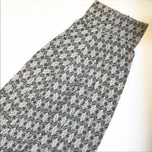 NWOT Lularoe Simply Comfortable Maxi Skirt Sz XXS